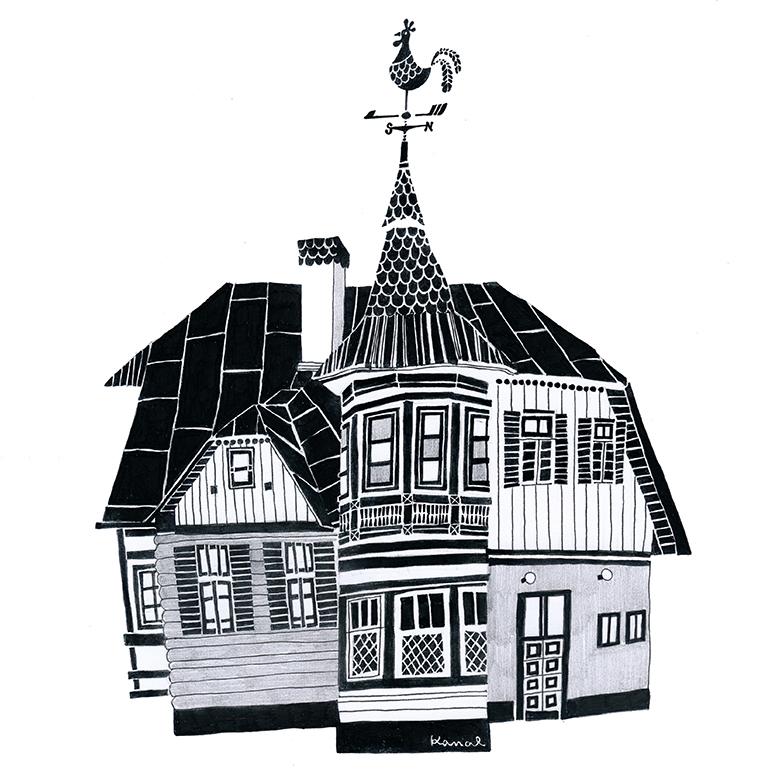 風見鶏の家