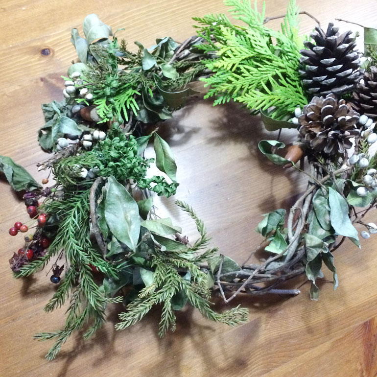 xmas2015 03 子どもと暮らし 「クリスマスの準備」
