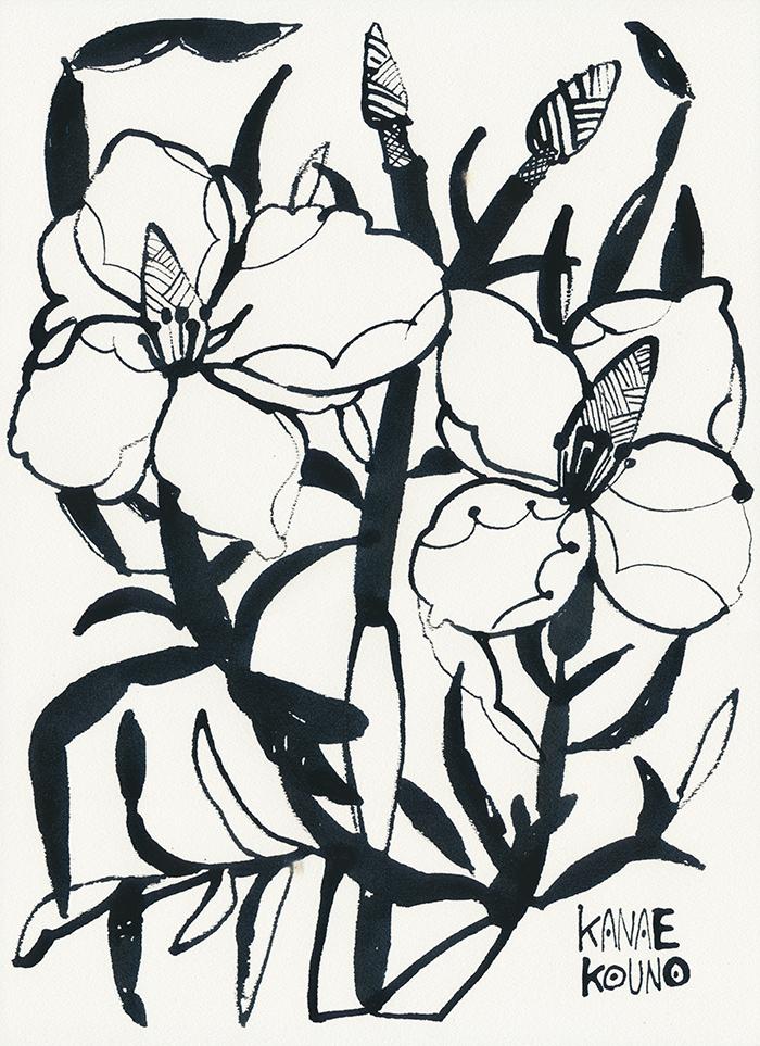 000niwanohana no2 「手と花と」出展作品