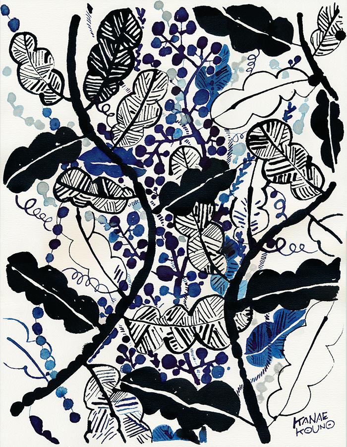 000nyokinyoki 「手と花と」出展作品