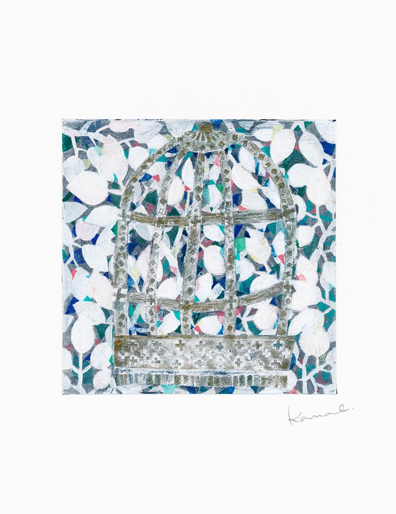 seidou 鳥籠の絵